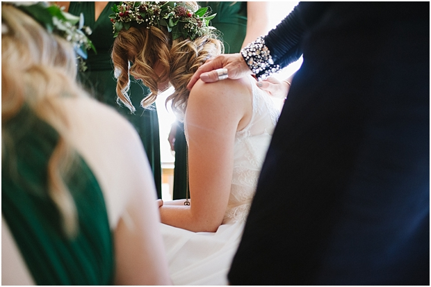 Fort Langley bride being prayed for